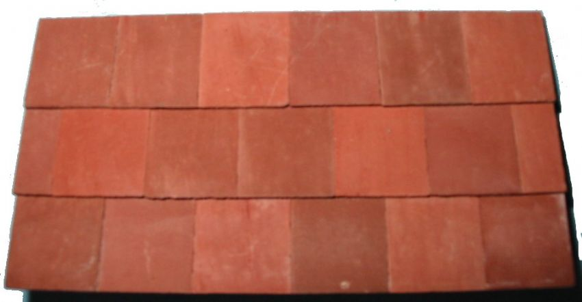 Mixed Red - Standard Full Tile - Dolls House